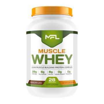 MFL MUSCLE WHEY โปรตีนสร้างกล้ามเนื้อ